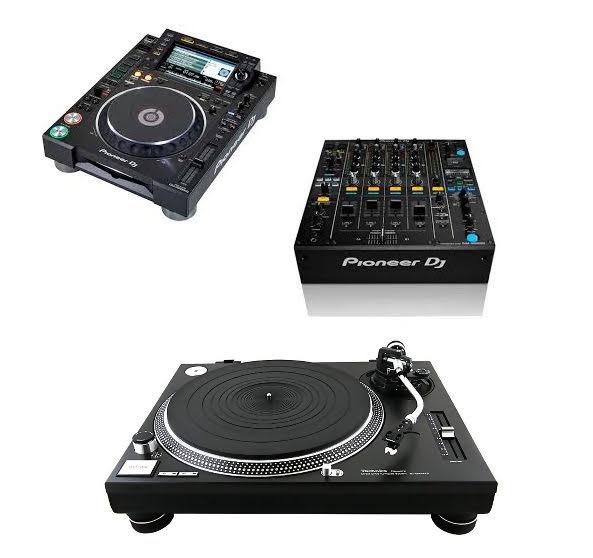 DJ Gear, Apparatuur te huur