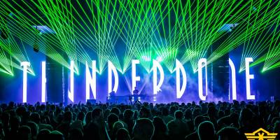 Thunderdome stage @ Q Base Festival