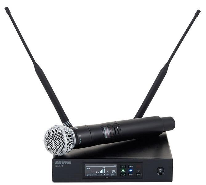 Shure Qlxd24 met Sm58 microfoon huren