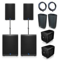 Turbosound-iQ12-iQ18b speakerset huren